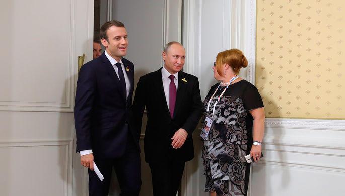 Макрон напомнил Путину про Солсбери