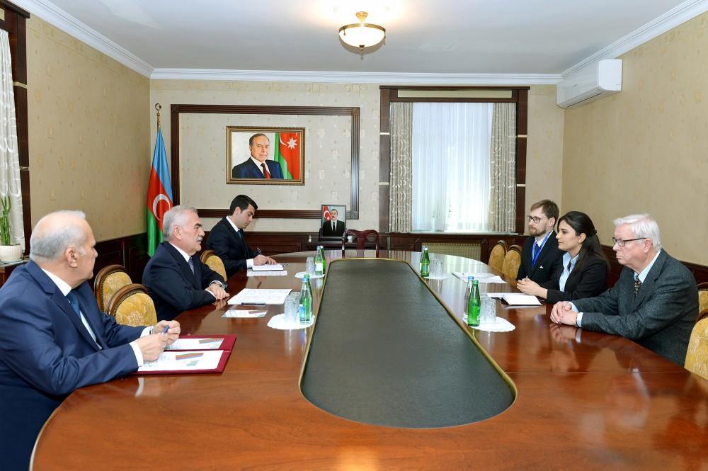 Vasif Talıbov ATƏT nümayəndələri ilə görüşdü - Foto