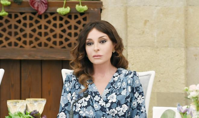 Mehriban Aliyeva`s post about former IDPs