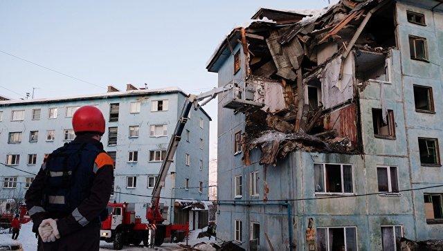 Murmanskda bina partladı: 2 ölü, 6 yaralı - Video