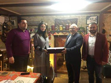 Paşayeva türkiyəli prorektorla Bakıda görüşdü – Foto