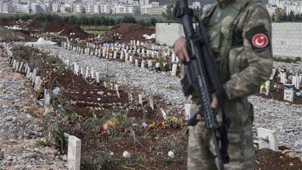 PKK-nın yüzlərlə terrorçunu basdırdığı məzarlıq... - Foto