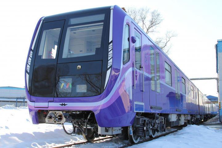 Бакинский метрополитен получил новые поезда