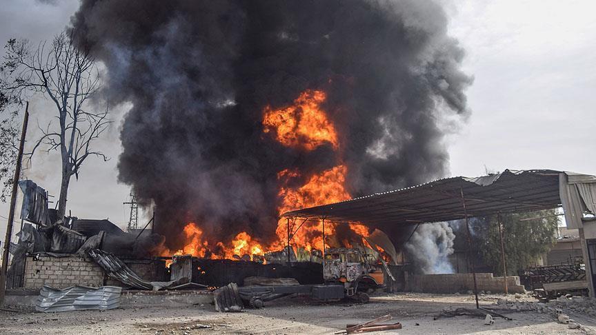 В пригороде Дамаска заживо сгорели 37 человек
