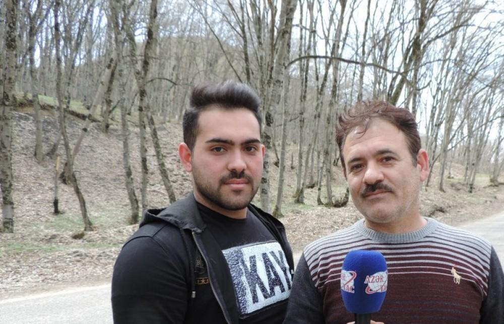 ایرانلی توریست بهروز دشتی: آذربایجانلیلار...