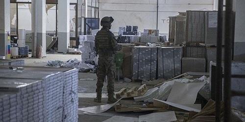 Afrində PKK-nın mətbəəsi tapıldı – Foto