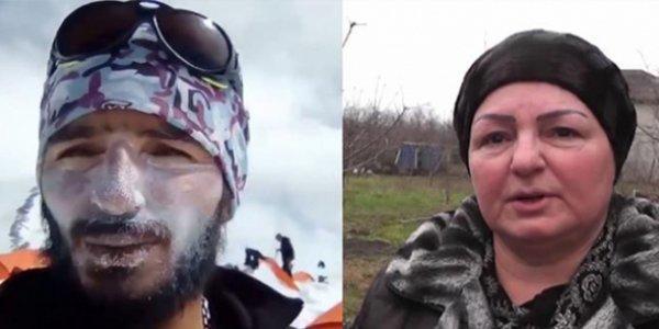 İtkin düşən alpinistin anası danışdı - Video