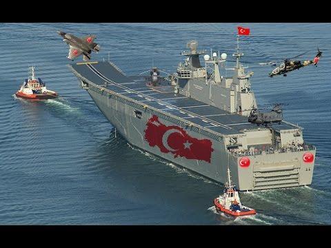 Турция строит свой первый авианосец - Фото