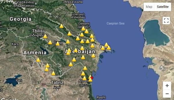 آذربایجاندا زلزله اولدو