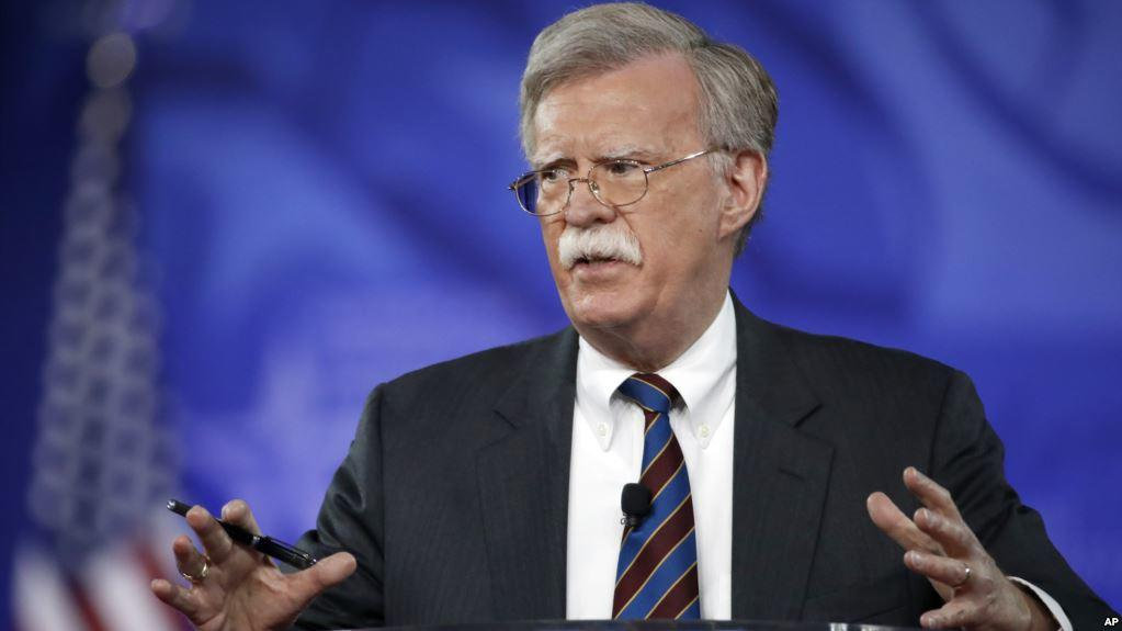 Bolton meets Russian defense minister in Moscow