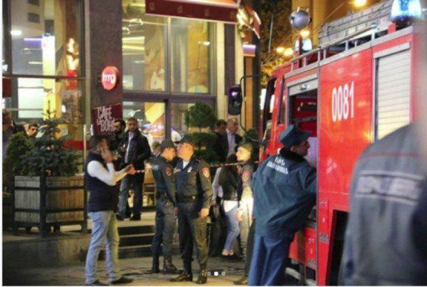 Restoranda partlayış: 4 nəfər öldü, 16-ı yaralandı