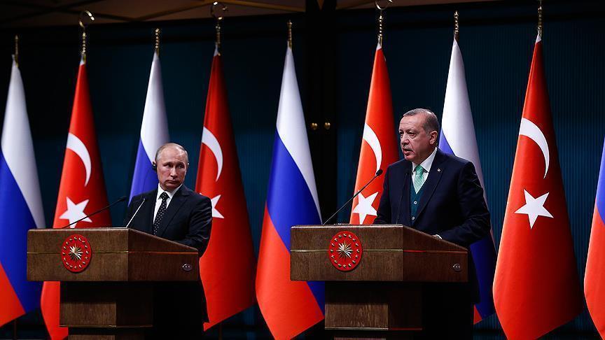 Песков не исключил скорого разговора Путина и Эрдогана