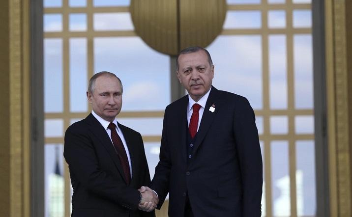Erdogan met with Putin in Sochi