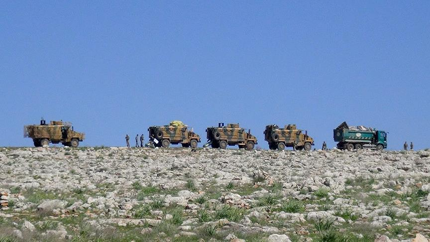Россия и Турция провели первое патрулирование в Телль-Рифате