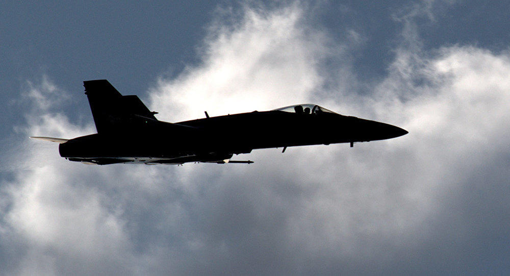 На Гавайях рухнул истребитель ВВС США