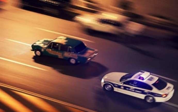 Cəlilabadda avtoşluq edənlər saxlanıldı - Video