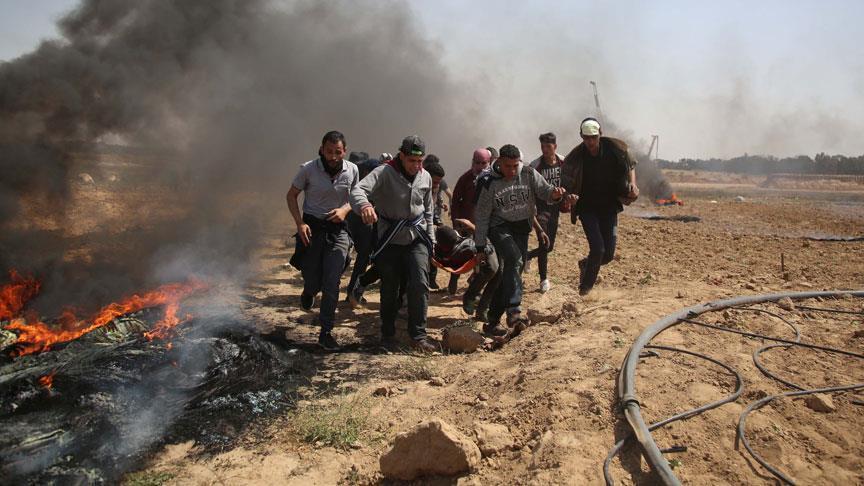 Израиль снова обстрелял из артиллерии Газу, 2 погибших