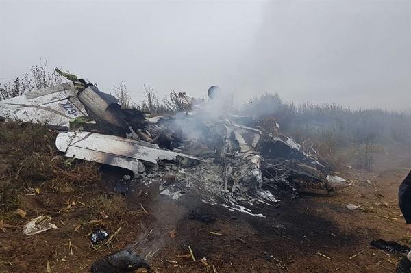 В США упал самолет, 5 погибших