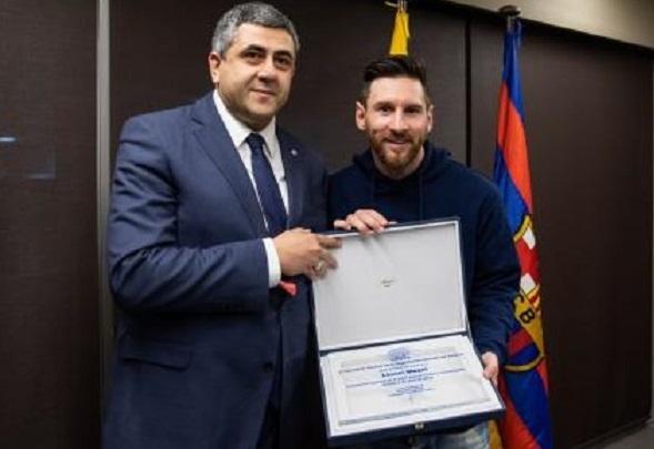Messi səfir təyin olundu