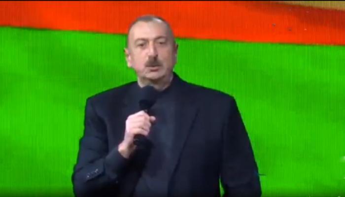 Azərbaycan xalqı öz taleyinin sahibidir - İlham Əliyev