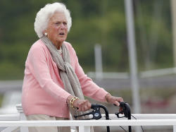 Former First Lady Barbara Bush dies at the age of 92