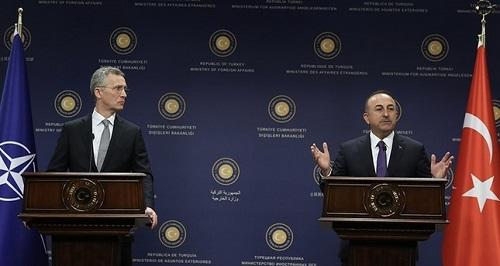 Karabakh discussion between Chavusoglu and Stoltenberg