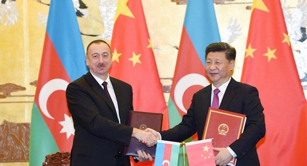 Jinping sent a letter to Ilham Aliyev