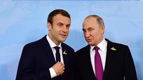 Путин и Макрон обсудили Сирию и Иран