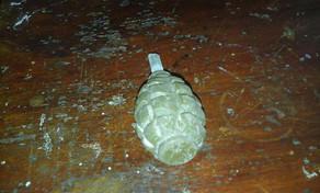 Bakıda əl qumbarası tapıldı