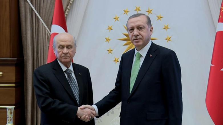 Бахчели назвал Эрдогана кандидатом от своей партии