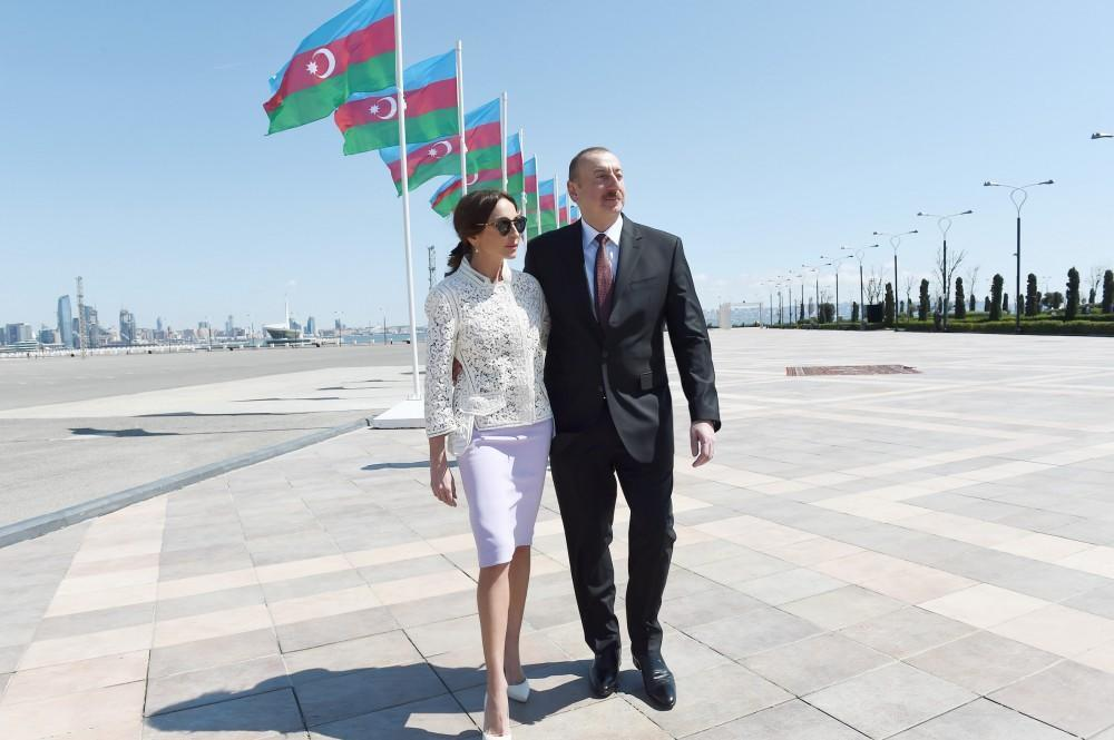 Prezidentin Mehriban xanıma etimadı: İki il keçdi... - Video