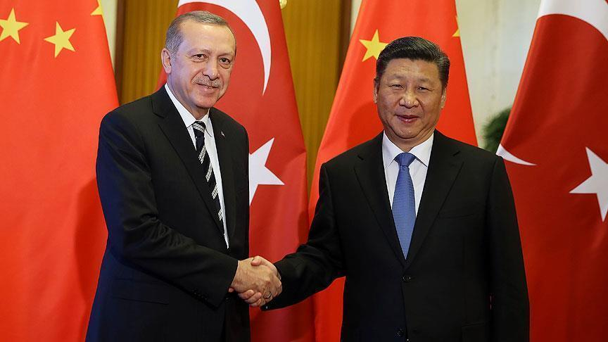 Presidents of Turkey, China make phone call