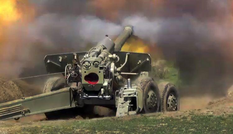 Ermənilərin sərhədimizdə gizli raket anbarları - Video