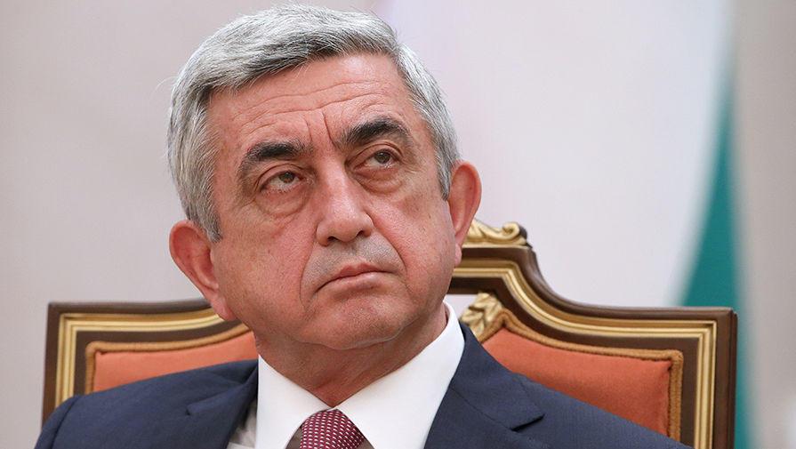 Как Саргсян отреагировал на поддержку Костаняном Пашиняна