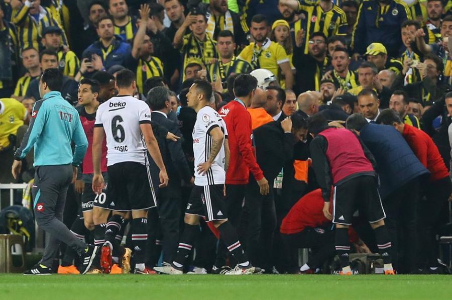 """""""Beşiktaş"""" """"Fənərbaxça"""" ilə görüşdən imtina etdi - Video"""