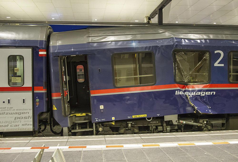 В Зальцбурге столкнулись венецианский и цюрихский поезда