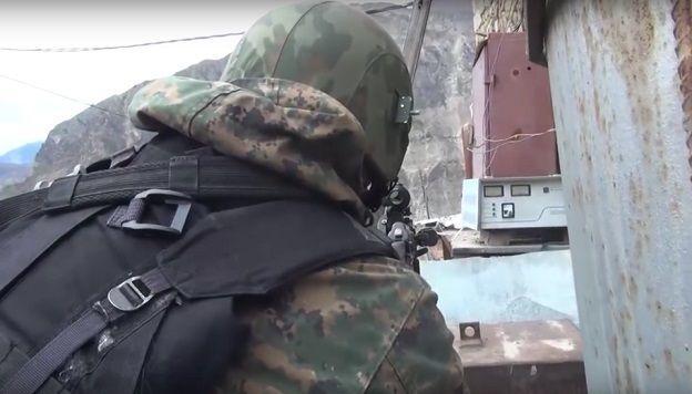 Dərbənddə 9 silahlının məhv edildiyi əməliyyatın - Videosu