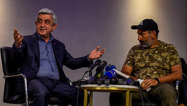 Sargsyan`s confession about Pashinyan