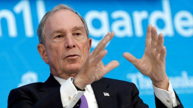 Bloomberg denies trying to buy White House election