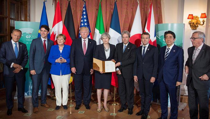 G7 обвинила Россию в дестабилизации