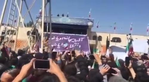 تبریز اهالیسی روحانینی بئله قارشیلادی