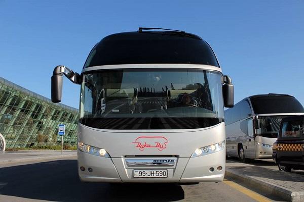 Aeroporta gedən avtobusların marşurutu dəyişdi