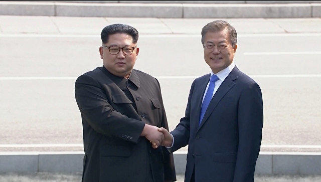 Critical telephone conversation between Pyongyang and Seoul