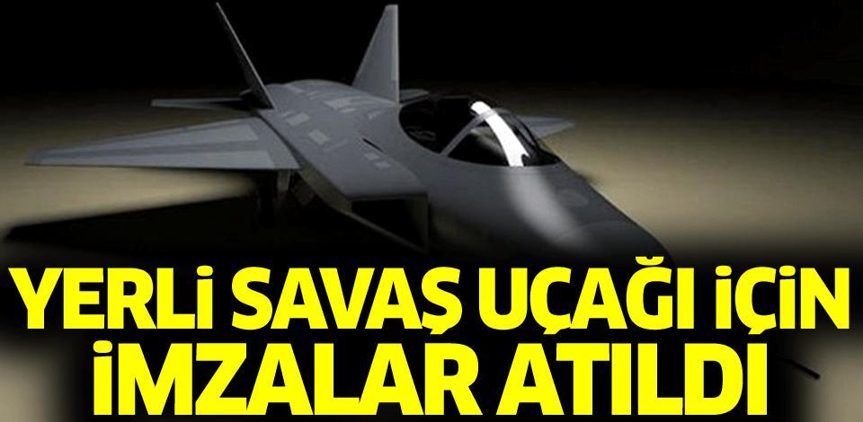 Türkiyədə ilkin anlaşma imzalandı - Milli qırıcı