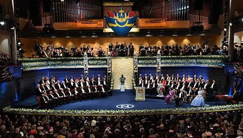 Nobel presentation ceremony was canceled