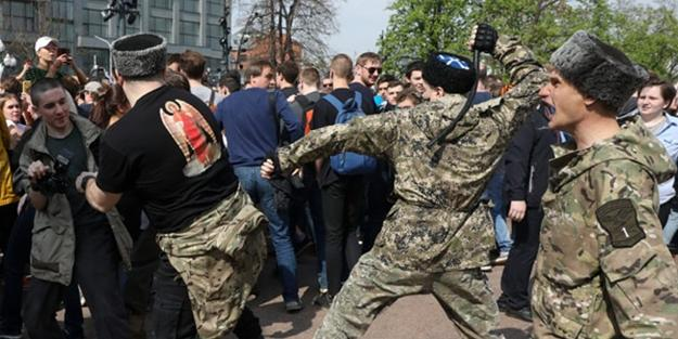 Protests in Russia: Clashes and arrests -