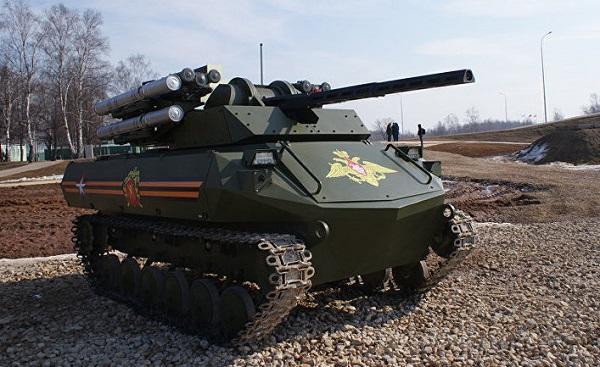 Rus ordusu hərbi robotları silahlanmaya qəbul etdi