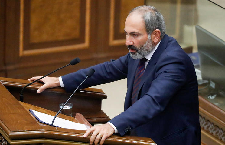 Пашинян выдвинут кандидатом в премьер-министры Армении
