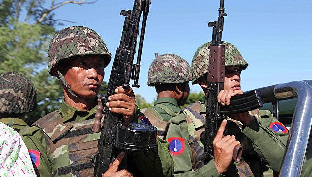 Myanmada qarşıdurma: 17 nəfər öldürüldü