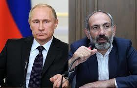 Путин позвонил Пашиняну